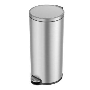 EKO Eva Pedal Bin, 30L – Stainless Steel