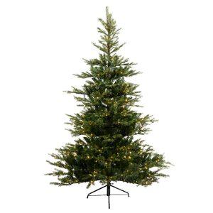 Everlands Grandis Fir Pre-Lit Christmas Tree – 8ft