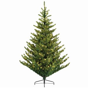 Everlands Liberty Spruce Pre-Lit Christmas Tree – 8ft