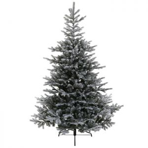 Everlands Snowy Grandis Fir Christmas Tree – 7ft