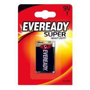 Eveready Super 9V Batteries - 1 Pack