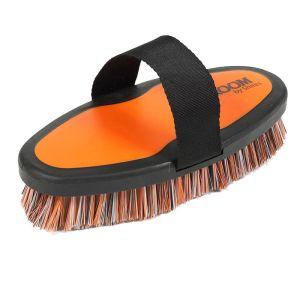 Ezi-Groom Body Wash Brush - Orange, Large