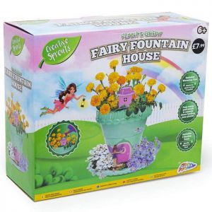 Creative Sprouts Grow Your Own Fairy Fountain House