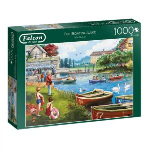 The Boating Lake Jigsaw Puzzle by Falcon - 1000 Pieces