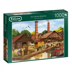 Victorian Bakers Jigsaw Puzzle by Falcon - 1000 Pieces