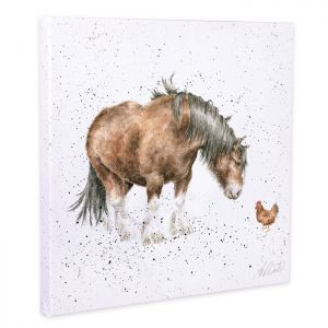 Wrendale Designs 'Farmyard Friends' Canvas – 20cm