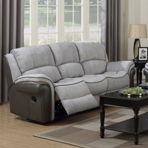 Farnham Reclining Sofa - 3 Seater, Fusion Grey