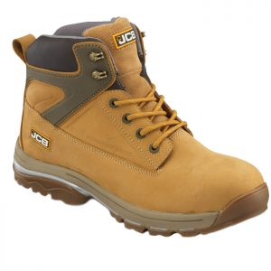 JCB Fast Track Safety Boots – Honey