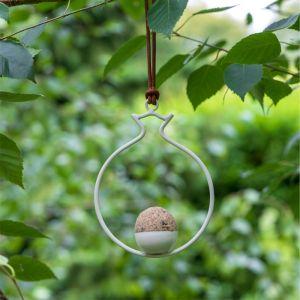 Burgon & Ball Sophie Conran Fat Ball Feeder - Pomegranate