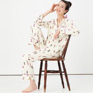 Joules Women's Sleeptight Pyjama Set – Feathers