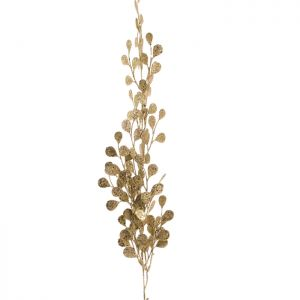 Festive Glitter Spray Decoration - Gold