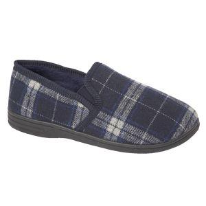 Jo & Joe Men's Fife Slippers - Navy