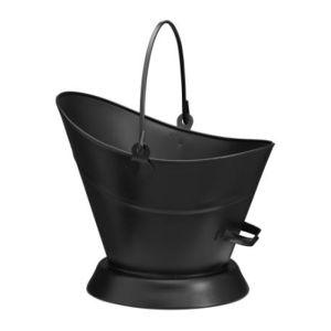 Fireside Waterloo Coal Bucket - Black