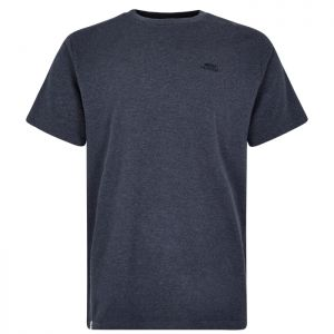 Weird Fish Fished Branded T-Shirt - Navy/Marl