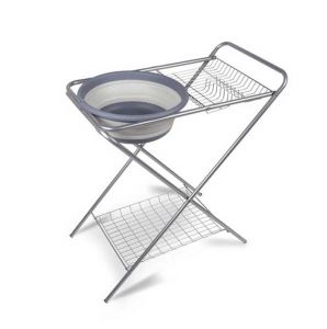 Kampa Washing Up Stand with Collapsible Bowl