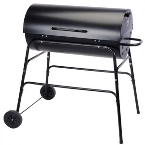 Flame Master Smoker Charcoal Drum Barbecue