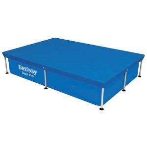 """Bestway Flowclear Rectangular Pool Cover - 7ft 4"""" x 5ft 4"""""""