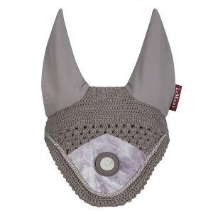 LeMieux Glacé Fly Hood – Grey
