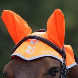 Shires EQUI-FLECTOR® Fly Veil – Orange