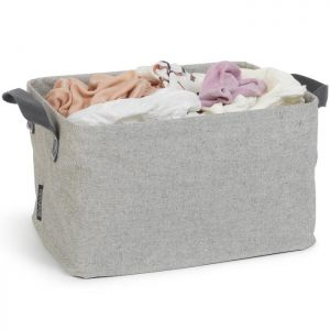 Brabantia Foldable Laundry Basket - 35 Litres, Grey