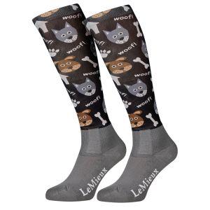 LeMieux Women's Footsie Socks - Dogs