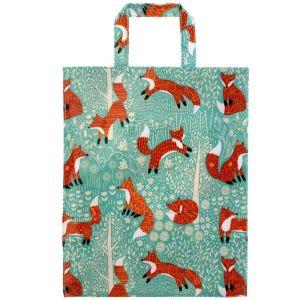 Ulster Weavers PVC Gusset Bag - Foraging Fox - Medium