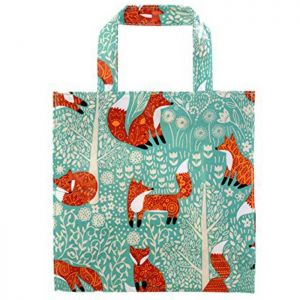 Ulster Weavers PVC Gusset Bag ヨ Small - Foraging Fox