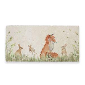 Kate of Kensington Marble Sharing Platter - Fox and Rabbit