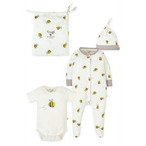 Frugi Baby Buzzy Bee Gift Set