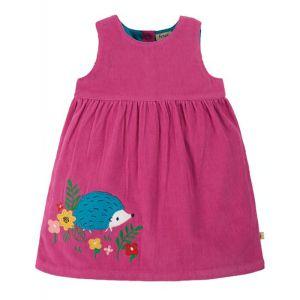 Frugi Baby Lily Cord Dress – Foxglove Pink
