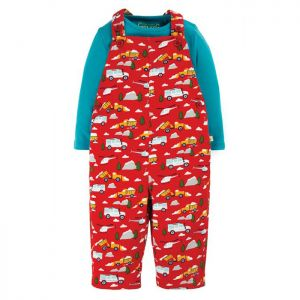 Frugi Baby Rae Dungaree Outfit – Mountain Rescue