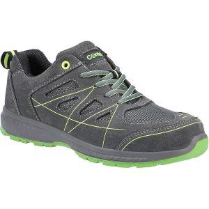 Centek Men's FS315 S1P Durable Safety Trainers - Grey