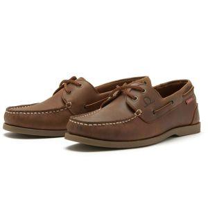 Chatham Men's Galley II Boat Shoe – Tan