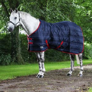 Gallop Defenders 200g Standard Neck Stable Rug – Navy/Red