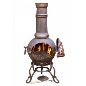 Gardeco Toledo Chimenea - Large, Bronze