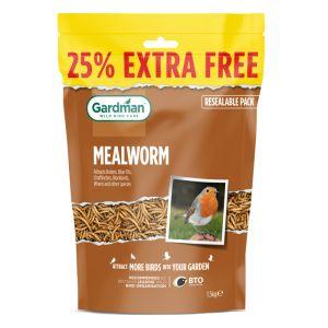 Gardman Mealworm - 1.2kg plus 25%