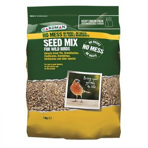 Gardman No Mess Seed Mix - 1kg