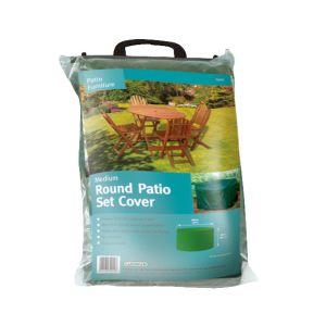 Gardman Round Patio Set Cover - Medium, Green