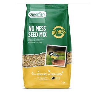 Gardman No Mess Seed Mix - 4kg