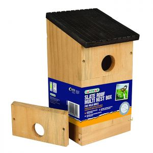 Gardman Wooden Roof Multi Nest Box