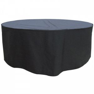 Garland 8 Seater Round Furniture Set Cover - Black