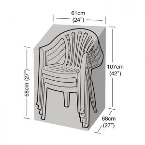 Garland Stacking Chair Cover - Black