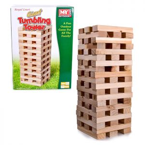 M.Y Outdoor Games Giant Tumbling Tower