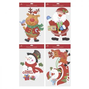 Christmas Glitter Board Hanging Decoration