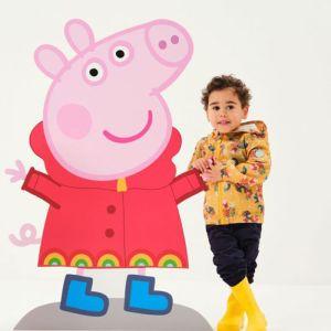 Regatta Children's Peppa Pig Muddy Puddle Jacket – Glowlight Floral