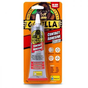 Gorilla Contact Adhesive, 75g - Clear