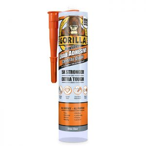 Gorilla Heavy Duty Grab Adhesive, 270ml - Clear