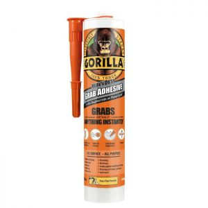 Gorilla Heavy Duty Grab Adhesive, 290ml - White