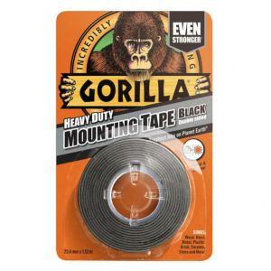 Gorilla Mounting Tape, 1.52m - Black