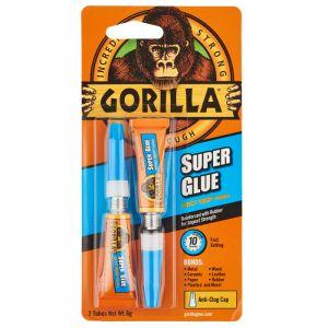 Gorilla Super Glue, 3g - Pack of 2